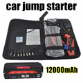 high quality 12000mAh Car Jump Starter Mini Portable Emergency Charger for Petrol and Diesel Car mobile power supply