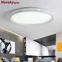 Dimmable LED plafonniers Luminaire moderne mince Luminaire Plafonnier pour salon cuisine chambre intérieur Plafonnier