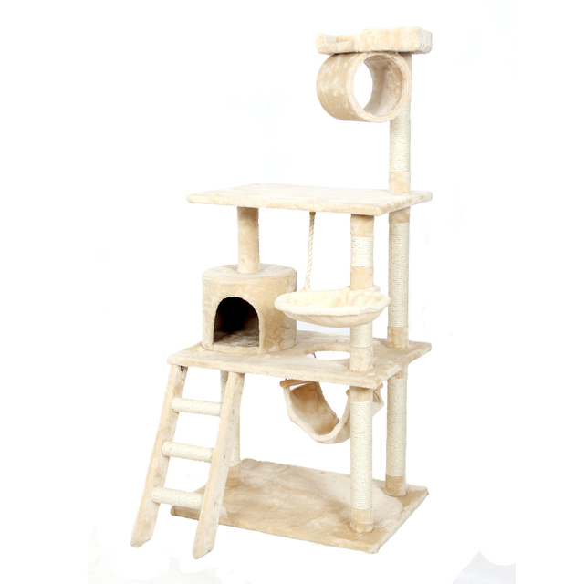 2016 Pet Cat Climbing Frame  Animal Puppy Multi-layer Cat Tree Cat Scratch PAWZ Road Cat Tree Board Condo Luxury Furniture