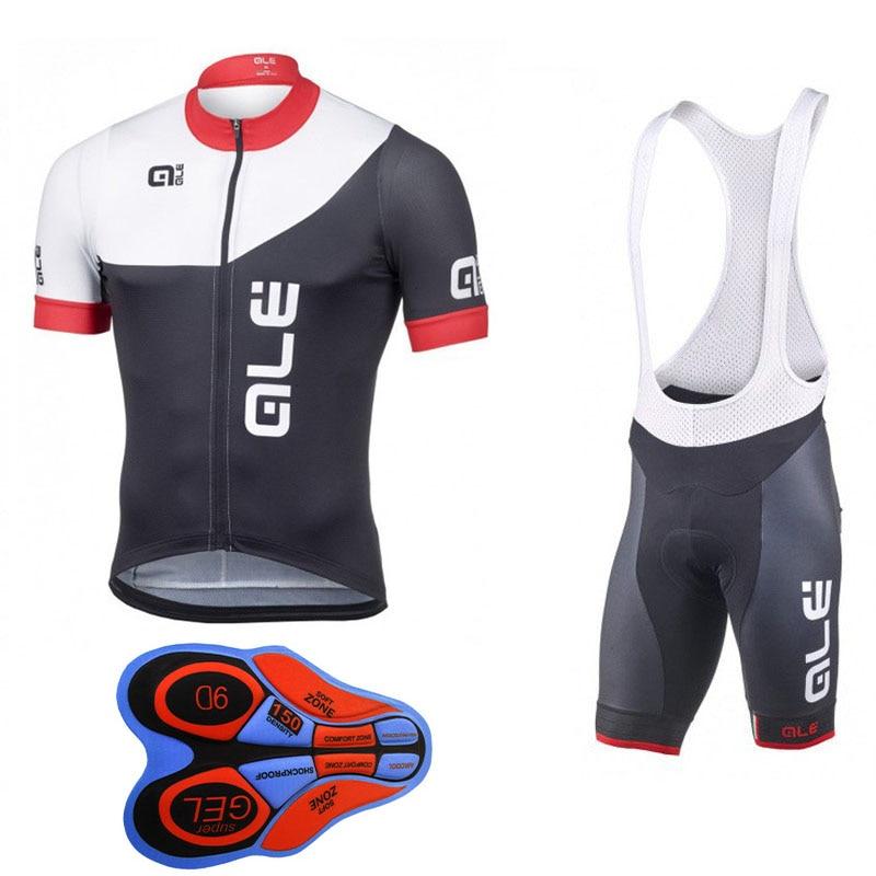 2018 ALE Mens Summer Cycling Jersey and Cycling Bib Shorts Pro Padded Cycling Clothing Ropa Ciclismo Cycling Wear Ciclismo MTB