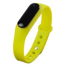 Спортивные часы Smart Bluetooth 4.0 отслеживания активности сна ЧСС подключен Android-смартфон и IOS Apple IPhone (зеленый)