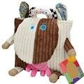 Coruja de pelúcia mochila criança toys mochila do bebê sacos de comida sacos de armazenamento toys boneca dos desenhos animados infantil criança toys presente
