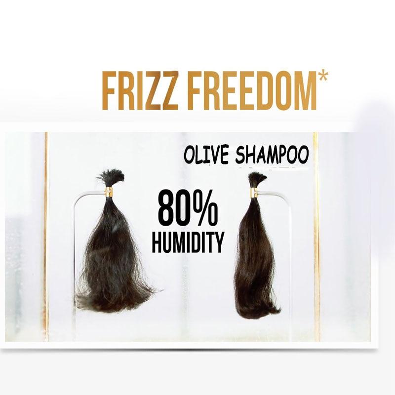 Ekstrak Zaitun Kerosakan Menyuburkan Syampu diperbaiki Melicinkan & - Penjagaan rambut dan penggayaan - Foto 4