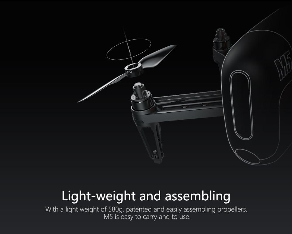 M5 Drone Portable Design