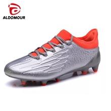 ALDOMOUR Hombres Calzado de fútbol Zapatos de fútbol Adolescente Voetbal Entrenamiento Fútbol Zapatos Hombres Fútbol Botas De Foot