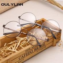 dfd64218acf Oulylan Round Glasses Frames for Harry Potter Metal Frames for Glasses  Spectacle Clear Lens Optical FemaleTransparent Eyeglasses