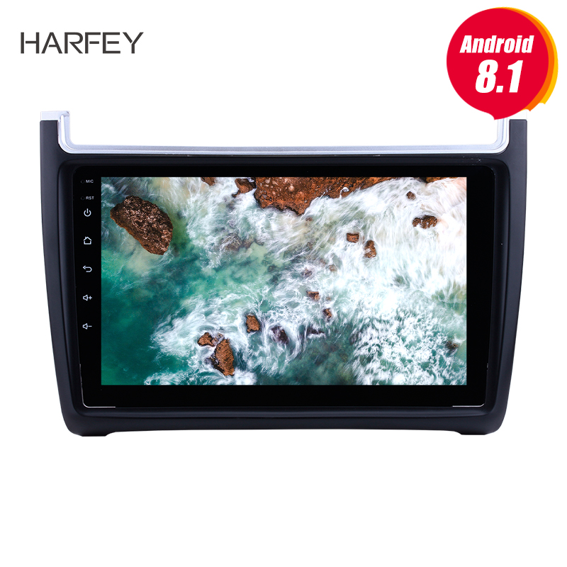 Harfey for VW Volkswagen Polo 2012 2015 9 Android 8 1 Car Audio Stereo GPS Navigation