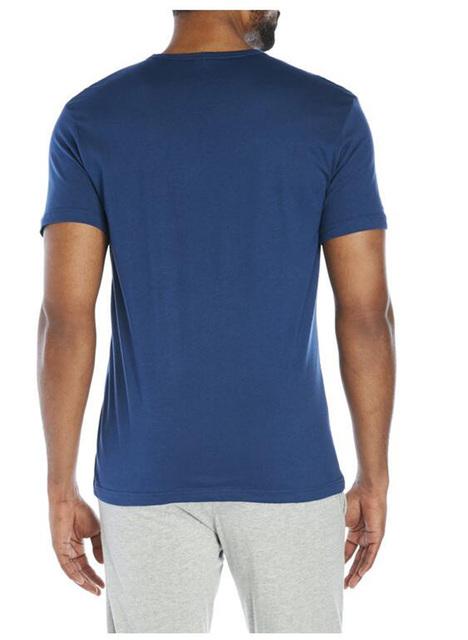 Calvin Klein Jeans / CK 2017 Men's Classic Round Neck Short Sleeved T-shirt Men Casual Simple Cotton Letter Print Tops Tees