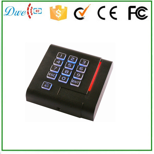 DWE CC RF low frequency short proximity range rfid card reader security gate system with wiegand 26 кухонный смеситель omoikiri shinagawa pl латунь гранит платина 4994107