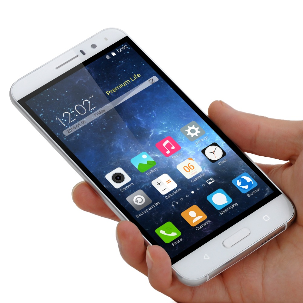 AMIGOO X18 Smartphone 5.5 pulgadas Quad Core Dual SIM Cards 8 GB ROM Android 5.1