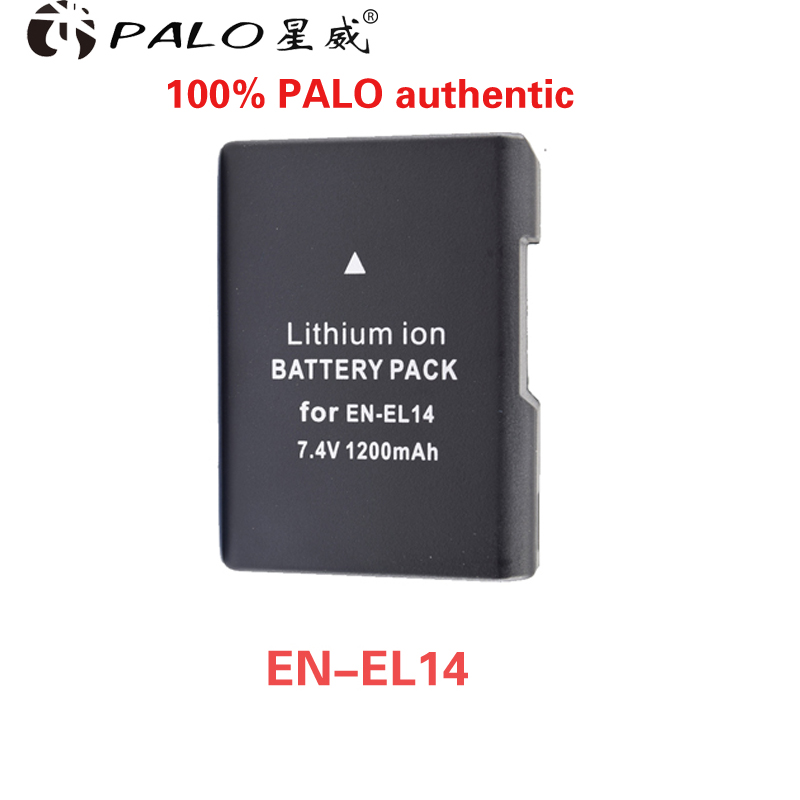 1 unid EN-EL14a ENEL14 EN EL14 batería para Nikon D5600, P7700, P7100, D3400, D5500, d5300, D5200, D3200, D3300, D5100, D3100, Df.