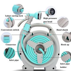 Image 3 - Garden Water Gun Shower Tool Outdoor Irrigation Does Not Hurt Plant Sprayer Car Wash Hose Multi mode Household Suit