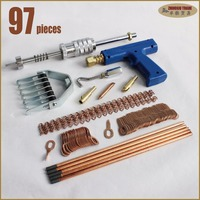 Stud Welding Gun Repair Kit Spotter Equipment Pulling Dents Car Body Repair Tools Removal Set Straightening