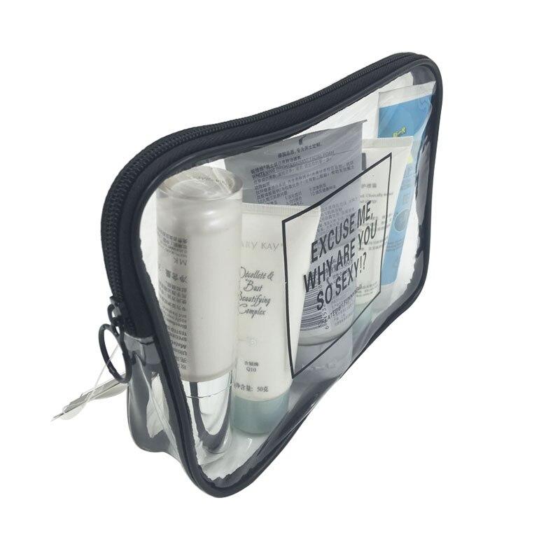 100% QualitäT Olagb Neue Einfache Mode Transparent Pvc Kosmetik Tasche Tragbare Lagerung Organizer Reise Waschen Tasche Vip Kosmetikerin Make-up Box