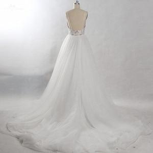 Image 2 - RSW815 tren desmontable vestido de novia largo 2 en 1