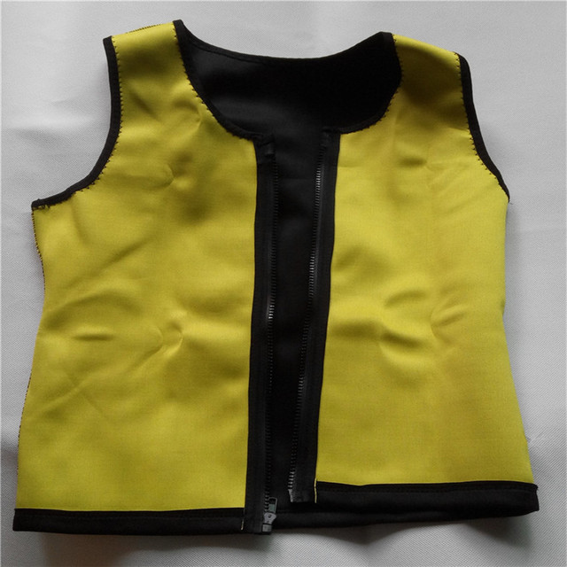 Men Slimming Vest Neoprene Shaper Sweat Thermal Belt Body Shaper Posture Trimmer Waist Abdomen Trainer Corsets  Shapers 2