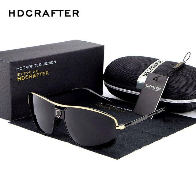 Aluminum Men Polarized Sunglasse sMagnesium Coating Mirror Sun Glasses men Driving Outdoor Polaroid Glass Male Eyewear H71