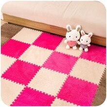 One Piece Puzzle Carpet Baby Play Mat Floor Puzzle Mat Plush EVA Children s Foam Carpet