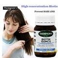 NewZealand Biotina VitaminsB suppleament para o estresse de açúcares gorduras proteínas metabolismo Forte nails & saudável cabelo Evitar QUEDA de cabelo