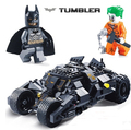 Decool 7105 batman o lepine joker building blocks super heroes batman batmobile tumbler figuras filme compatível legoinglys