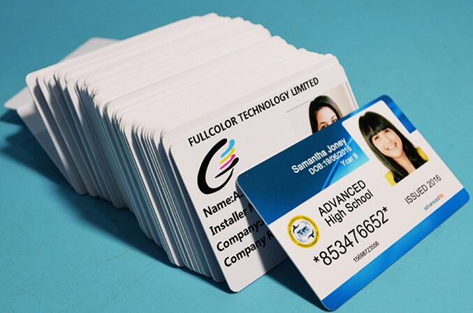 Inkjet Blank White PVC Cards Waterproof & Double Side Printing For Epson Stylus Photo T50 R210 R220 R230 R300 Canon Printer