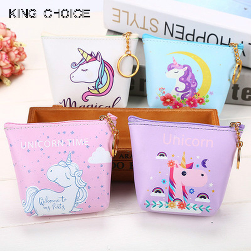 цены Korean Ladies Cartoon Coin Purse Wallet Girls' Cheapest Zipper Coin Wallet Children Cute Animal Mini Key Card Pouch Bag For Kids