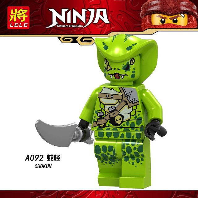For ninja juguetes Jay Zane Chap Rai Nya Lloyd Nuckal Loyld Chokun Snakes Skeleton Bone Soldier Toys Building Blocks