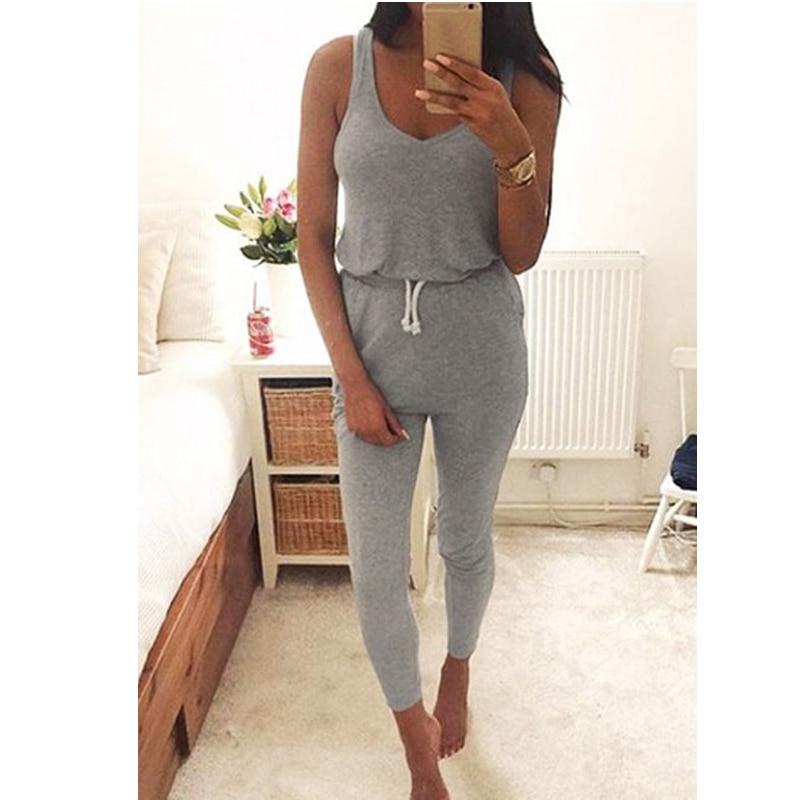 Grey Jumpsuit | Gommap Blog