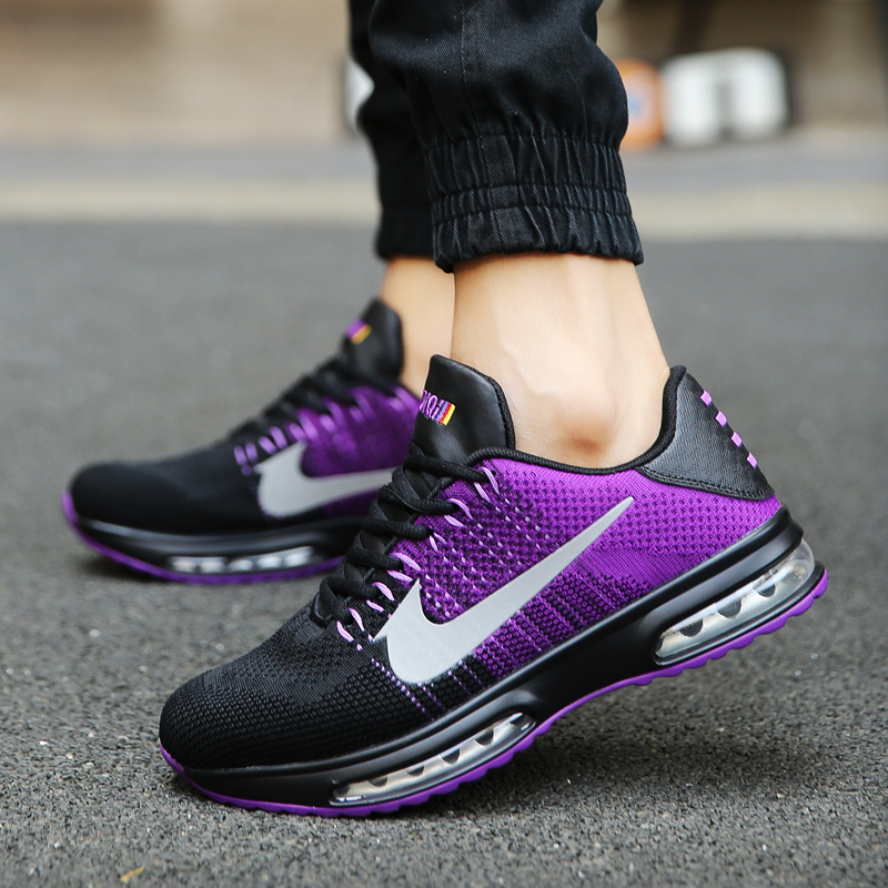 New Arrive Men Mesh Running Shoes Male Breathable Outdoor Sports