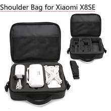 Buy Portable Shoulder Bag Handbag Drone Bag Nylon Carrying Case for Xiaomi Storage Bag Box with Strap for Xiaomi X8SE Accessories directly from merchant!