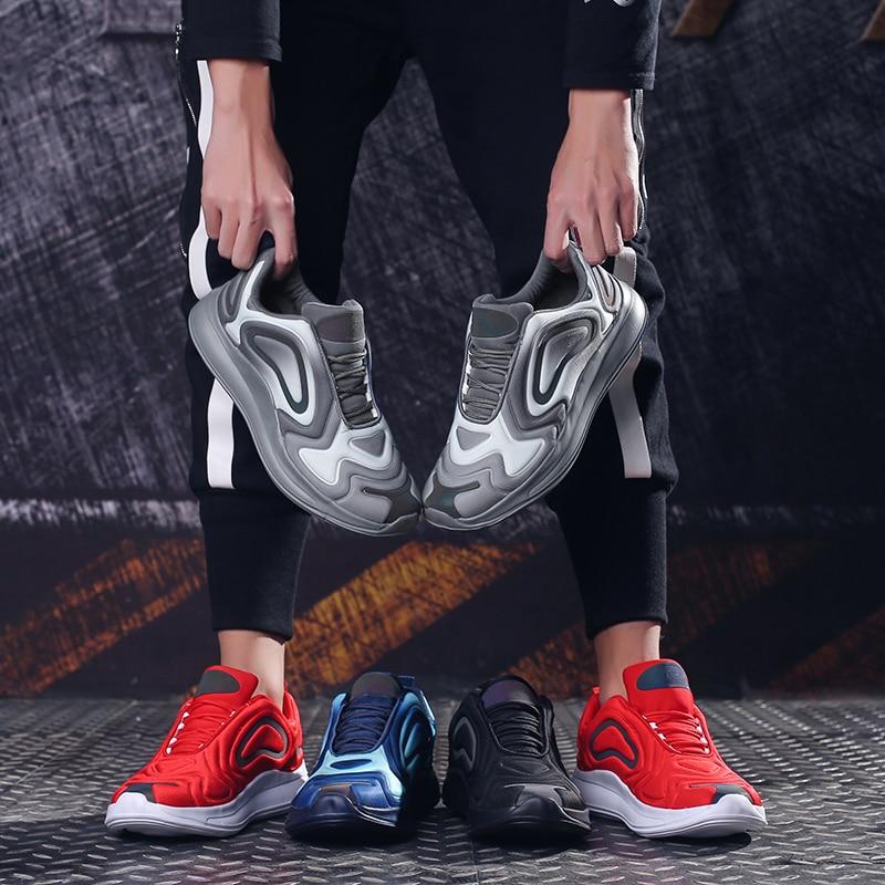 grey Chaussures Hommes Homme Sneakers Baskets 079 2019 Casual 39 Mode forme En ~ 46 Garçon red Plate Cuir blue Black Respirantes Vintage n8k0POw