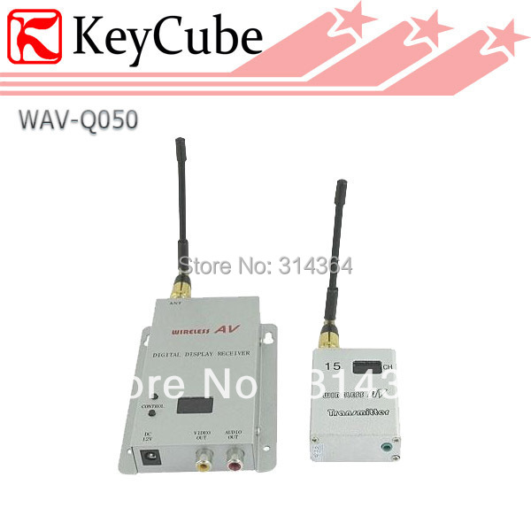 NEW 1.2GHz 500mW 15 Channel Digital Wireless AV Transmitter and Receiver for CCTV Surveillance Free Shipping носки collonil носки и гольфы стрейч