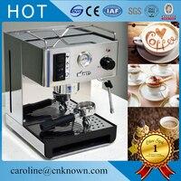Espresso Automática Máquina de Café Por Gotejamento Cafeteira Elétrica Branca de alta qualidade|Processadores de alimentos| |  -