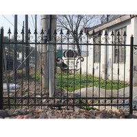 Hench 100% handmade forged custom designs cheap fence for sale