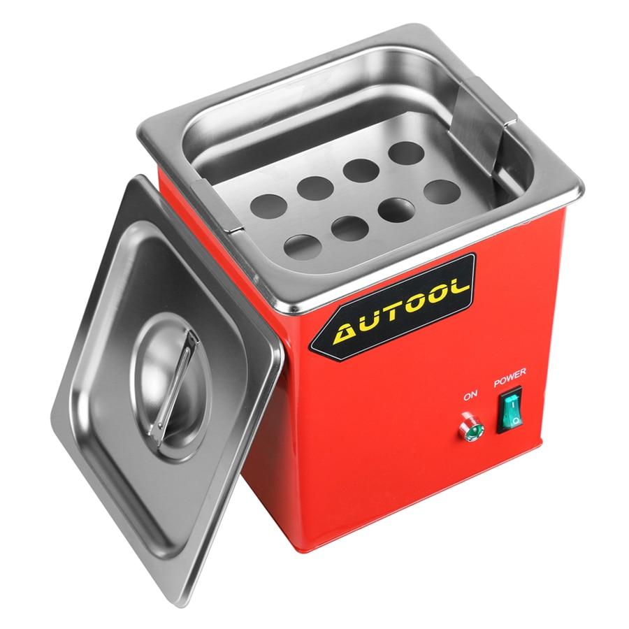 AUTOOL MCT100 ультразвуковой автомобильный очиститель инжектора топлива 1000 мл Форсунка Свеча зажигания для запуска CNC602A CT200 220 В