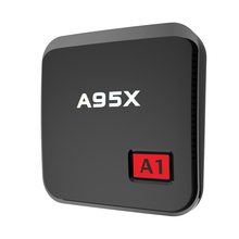 A95X A1 TV BOX Amlogic S905X 1 GB 8 GB Android 6.0 4 K Ensemble Top Box 2.4G WIFI HDMI 4 K * 2 K Miracast DLNA Media Player PK X96 A95X