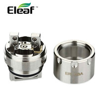 Original Eleaf Melo RT 25 ERL RBA Head Rebuildable And Reuseable DIY Coil Head W Pure