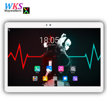 2018 Newest 10 inch 2.5D screen tablet pc Android 7.0 octa core RAM 4GB ROM 32/64GB Dual SIM Bluetooth GPS Smart tablets pc 10.1