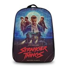 Stranger Things Backpack Schoolbag Casual Backpack Teenagers Men women's Student School Bags Travel Shoulder Bag Laptop Bags
