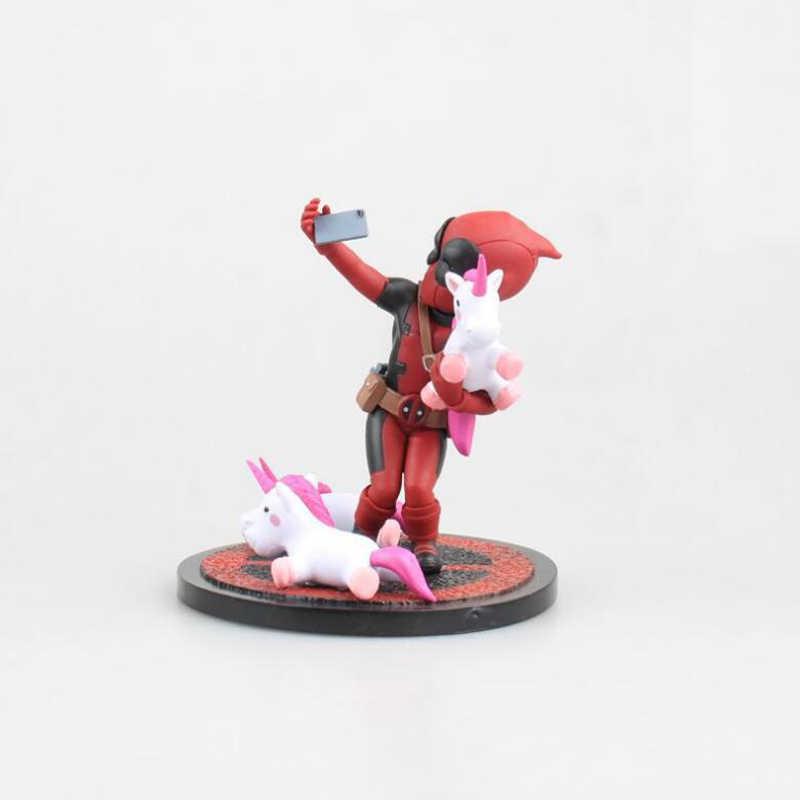Deadpool Action figure modelo brinquedos dos desenhos animados 10.5 cm colleciton figuras boneca crianças presente de Natal toy PVC