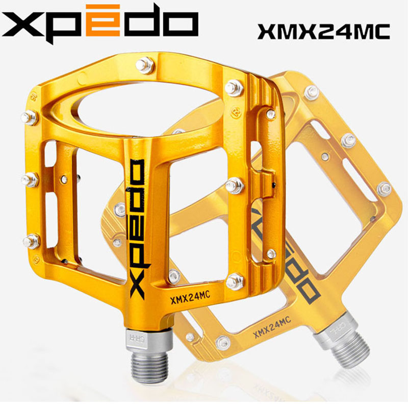 New MTB Mountain Bike Bicycle Pedals Cycling Ultralight Magnesium Alloy Pedals 255g Cycling Pedals Flat Xpeddo