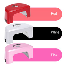 купить Hand and foot dual-use semi-circular portable with LED phototherapy lamp 12W with induction nail lamp Mini nail dryer home nail по цене 1094.88 рублей