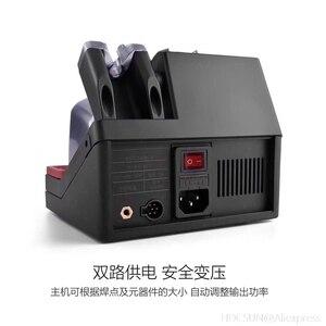 Image 5 - UD 1200 Jabe precyzyjna stacja lutownicza bezołowiowa Smart 2.5S szybkie nagrzewanie z podwójny kanał system ogrzewania zasilania