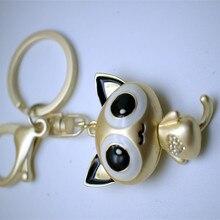 2017 new trinket fake pompom keychain bunny keychains on bag rabbit fur Keychain fur pom pom charms for bags anime