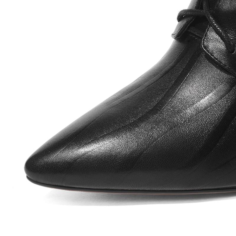 Estrecha Genuino Encaje Altos Tacones Mujeres 2019 Rojo De Black Mezclados red Moda Zapatos Simloveyo Cuero Colores Calidad Las Superior Punta nXBRxz8qwg