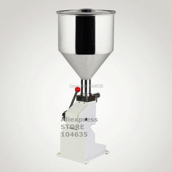 2019 Aliexpress Hot sale Table Manual bottle Filling Machine (5~50ml) for cream shampoo  cosmetic,Honey Liquid filler machine