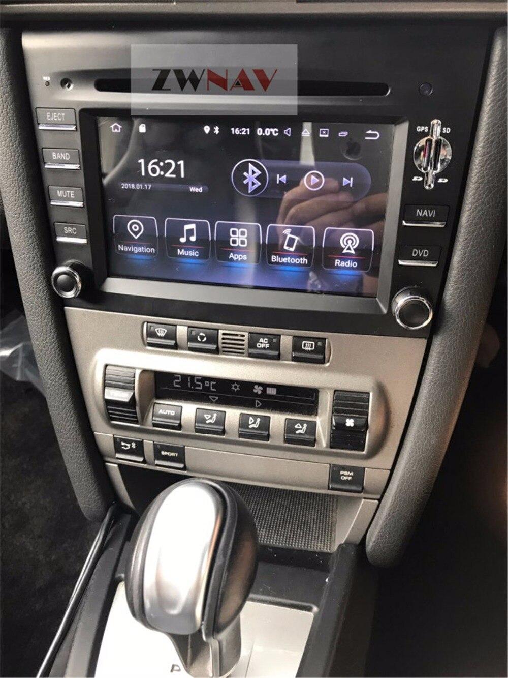 6.2 Android Car GPS Navigation Anti-dazzling Screen Radio DVD Player for Porsche 911 997 CAYMAN 2005-2008 BOXTER 2005-2012 playmobil лицензионные автомобили porsche 911 targa 4s 5991
