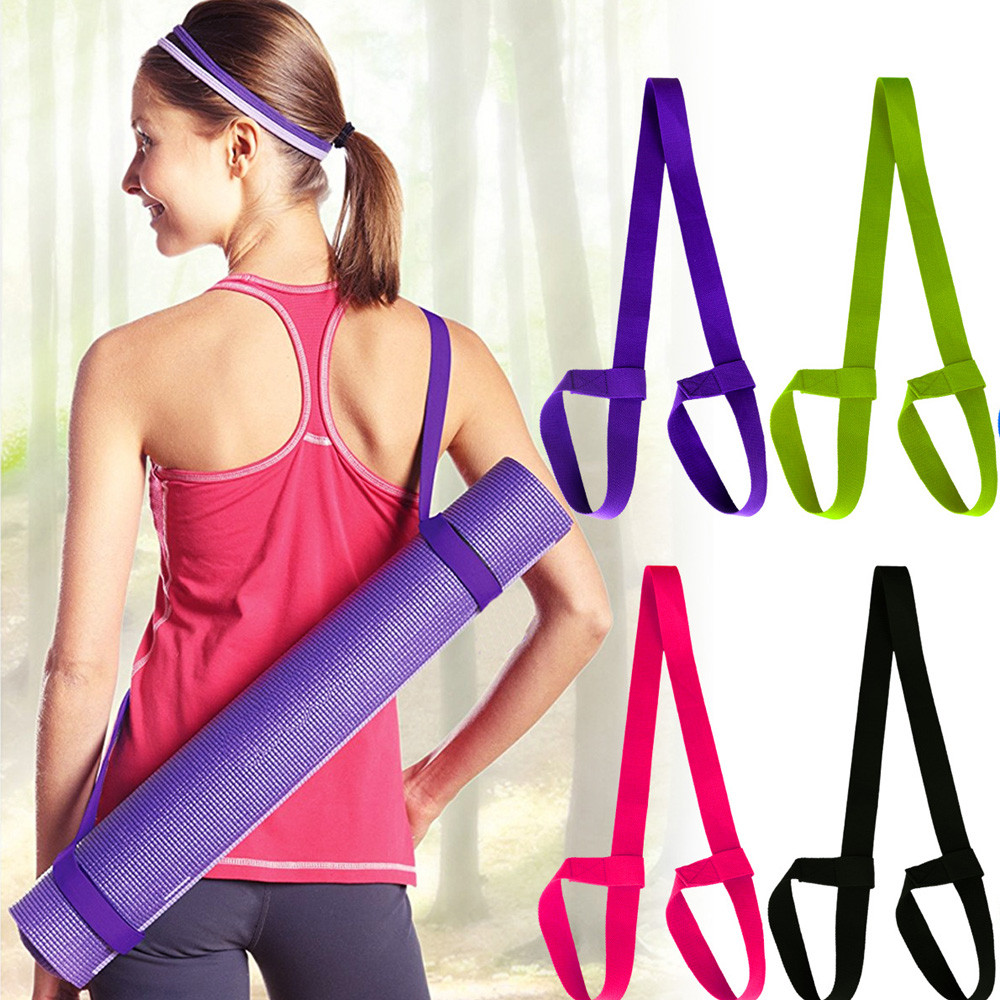 2018 Yoga Mat Straps With Yoga Straps Exercise Mat Straps