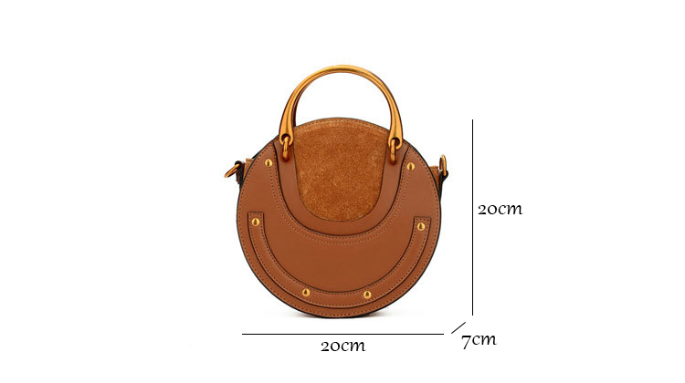 New 2017 Patchwork Scrub Barrel-Shaped Bag Tote Women Cowhide Split Leather Handbags For Female Messenger Bags Bolsas an613