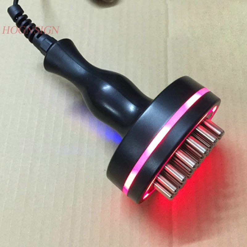 Far infrared five-wire electric meridian brush electric micro-electric heating body dredge slimming massage brush instrument цена